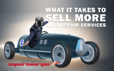 What it takes to sell more auto repair services